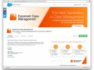 Exponent Partners Case Management AppExchange Landing Page